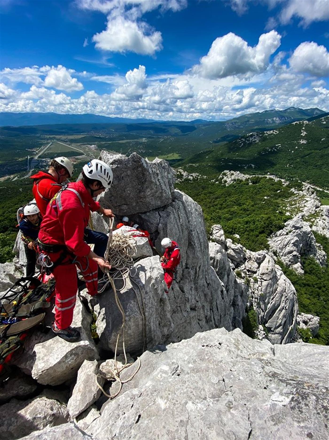 Ljetna vježba spašavanja HGSS Stanice Rijeka