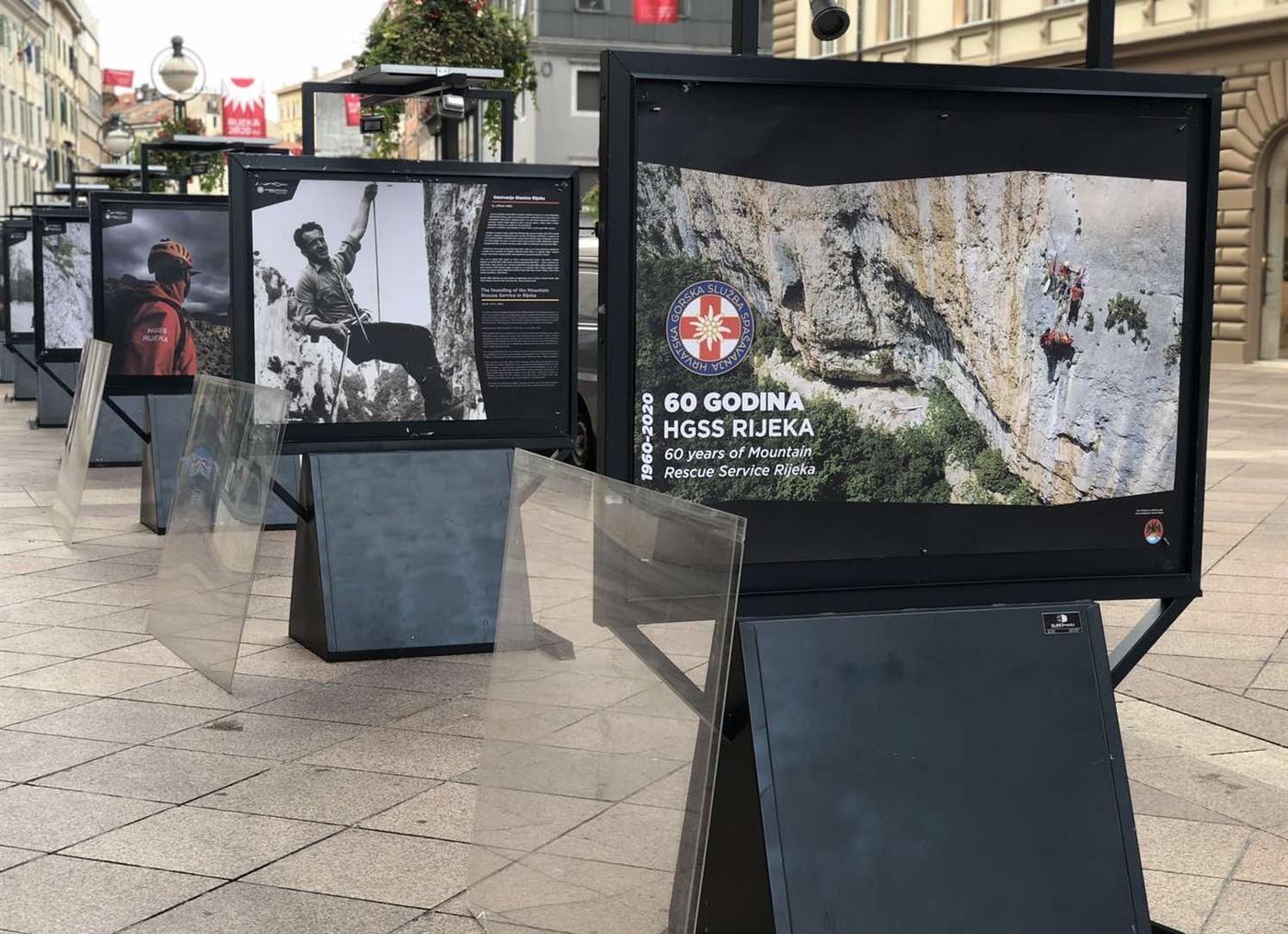 """Izložba """"60 godina HGSS-a Rijeka"""" od 22. do 30. rujna na Korzu"""