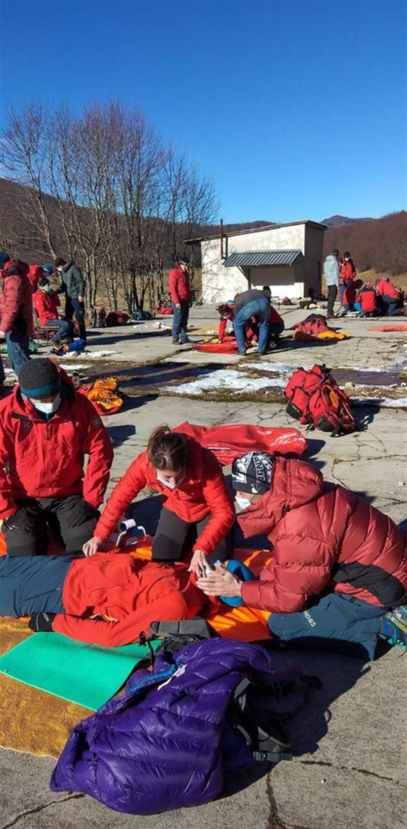 Vježba prve pomoći HGSS Stanice Rijeka