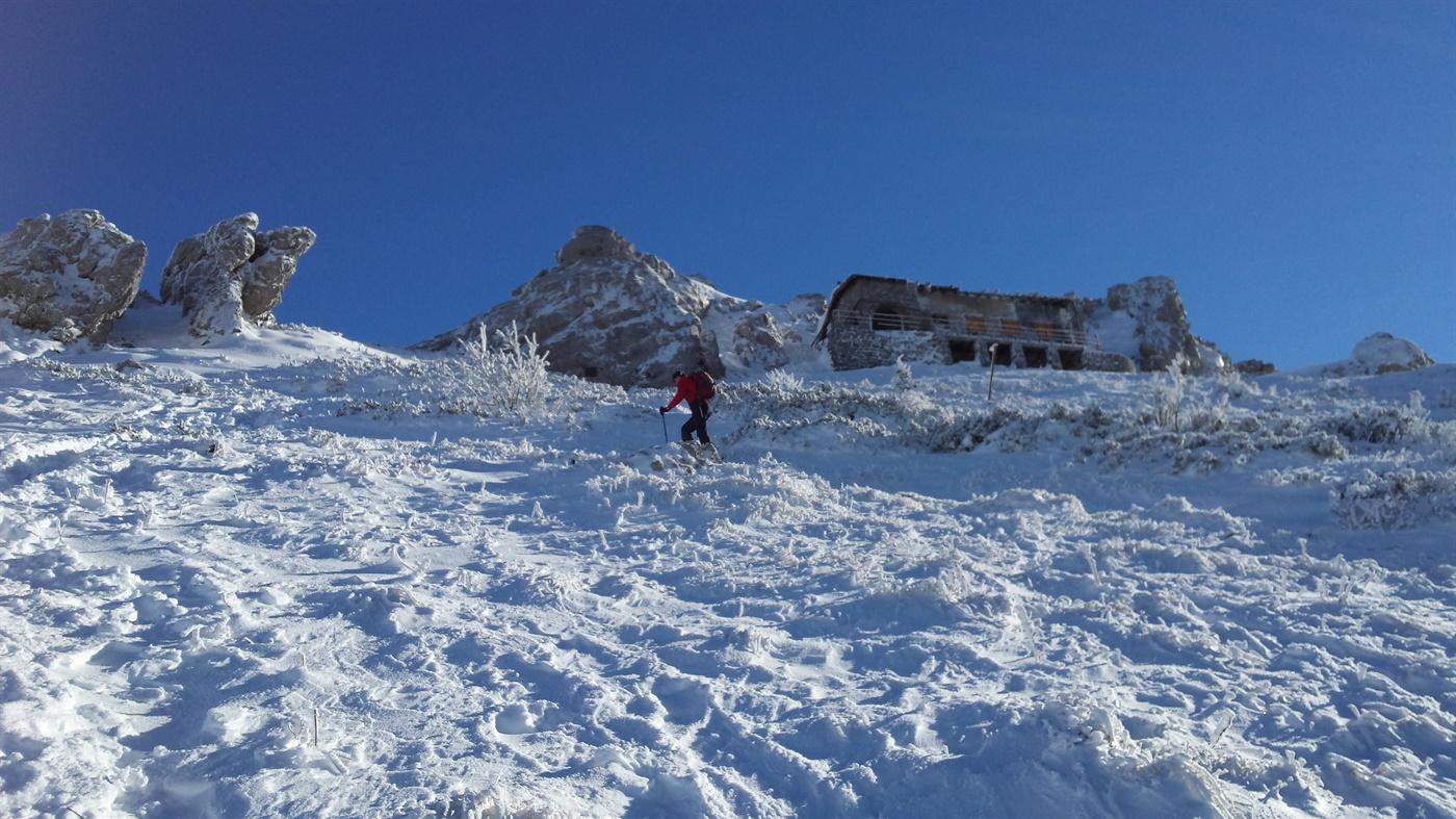 Pomoć pri silazu s vrha Snježnika