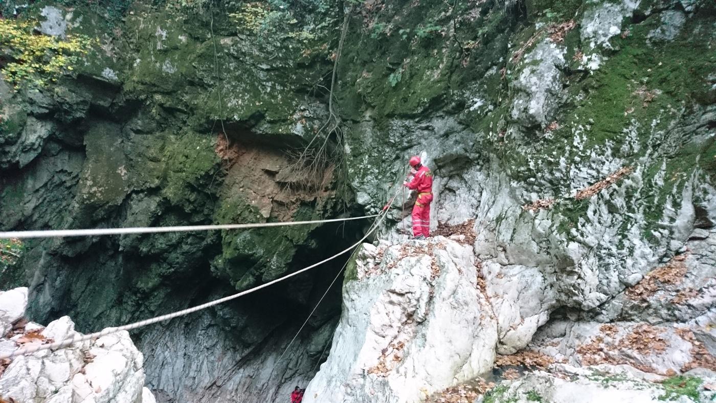 Akcija u kanjonu Rječine