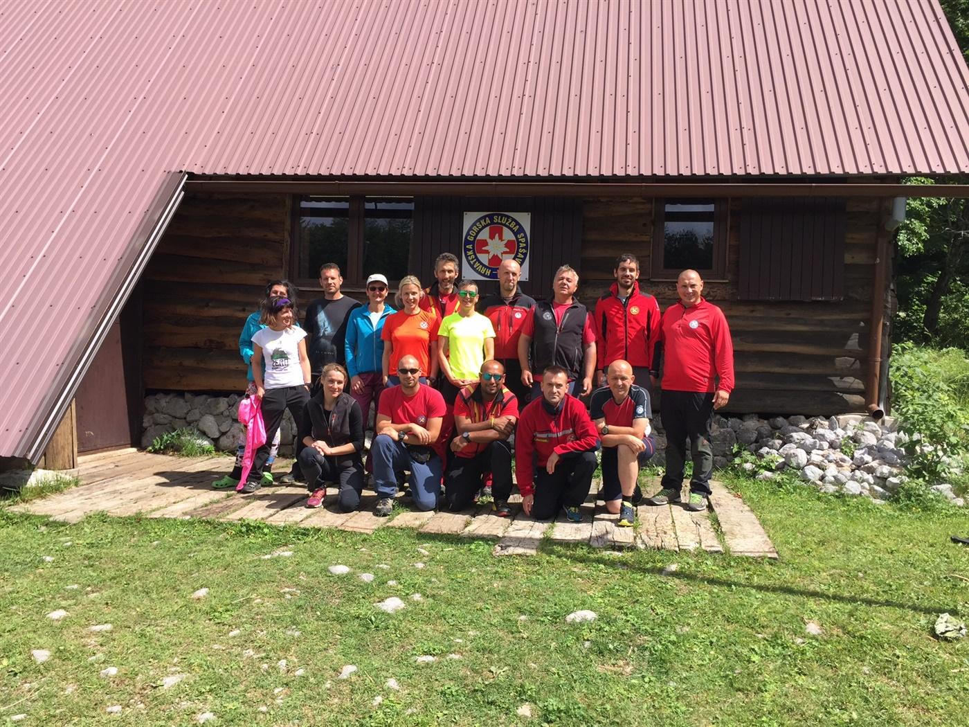 Međunarodna vježba potražnih timova Alpe Adria Platak 2017