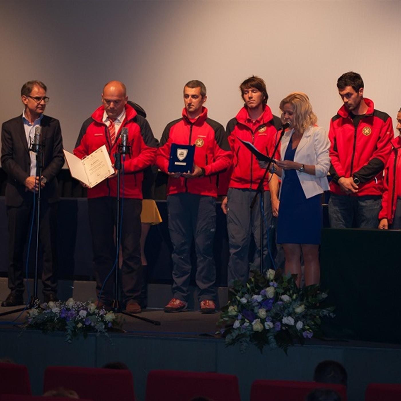 Obavještajna točka HGSS na Malome Lošinju primila nagradu