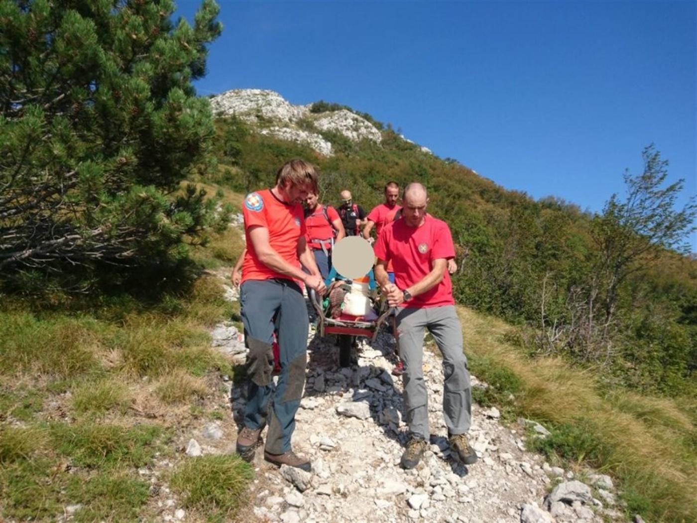 HGSS stanica Rijeka tijekom ponedjeljka i utorka u akcijama spašavanja planinara